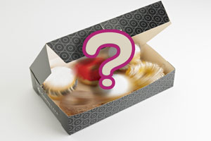 <strong>Surprise Box (Box of 6) </strong><br/> Assorted Donut flavours
