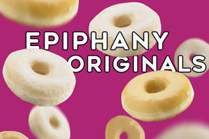 <strong>Epiphany Originals (Box of 6)</strong><br/>3 Sugar Glazed and 3 Salted Caramel